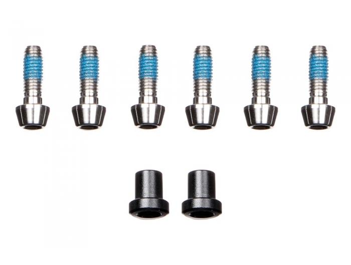 TI BOLT KIT - ARX LTD (bolts and steerer nuts)